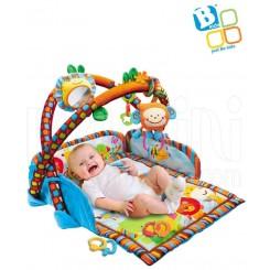 خريد اينترنتي سيسموني نوزاد پلی جیم چندکاره بلوباکس Blue-Box نوزادی، نی نی لازم فروشگاه اینترنتی سیسمونی