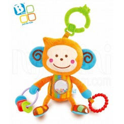 خريد اينترنتي سيسموني نوزاد عروسک دندانگیر میمون بلوباکس Blue-Box نوزادی، نی نی لازم فروشگاه اینترنتی سیسمونی