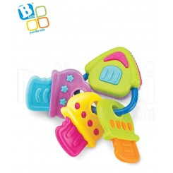 خريد اينترنتي سيسموني نوزاد دندانگیر کلید موزیکال بلوباکس Blue Box نوزادی، نی نی لازم فروشگاه اینترنتی سیسمونی