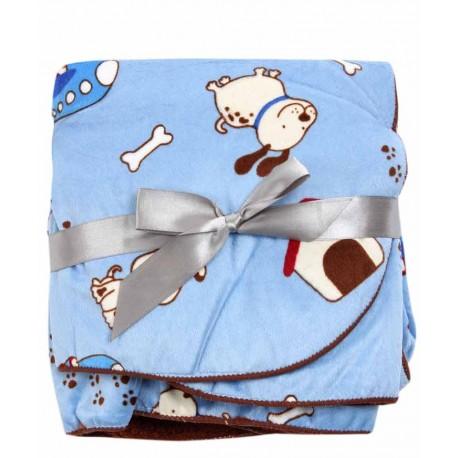 پتوی نوزادی طرح سگ زیرک و استخوان کارترز Carters - 1