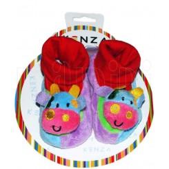 خريد اينترنتي سيسموني نوزاد پاپوش کودک گاو آبی کنزا Kenza - 1 نوزادی، نی نی لازم فروشگاه اینترنتی سیسمونی