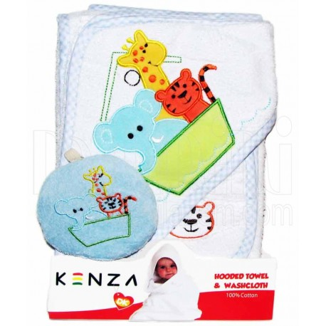 حوله سه تکه قایق حیوانات کنزا Kenza - 1