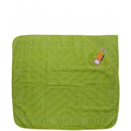 حوله تک رنگی (سبز یشمی) تاپ لاین Top Line - 1