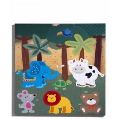 خريد اينترنتي سيسموني نوزاد تابلو شاسی مدل باغ حیوانات پارکادو Parkado نوزادی، نی نی لازم فروشگاه اینترنتی سیسمونی