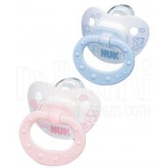 خريد اينترنتي سيسموني نوزاد پستانک Rose & Blue جدید ناک  سایز 2 NUK نوزادی، نی نی لازم فروشگاه اینترنتی سیسمونی