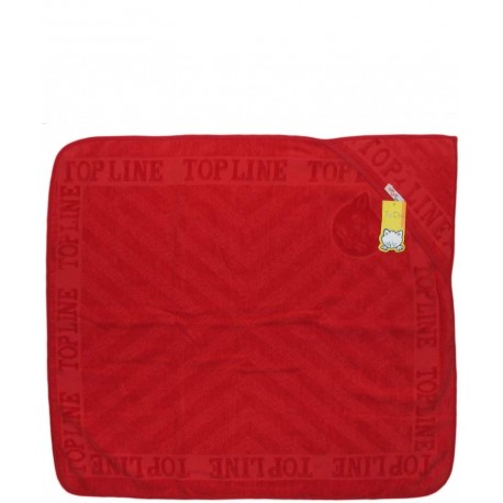 حوله تک رنگی (قرمز) تاپ لاین Top Line