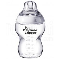 خريد اينترنتي سيسموني نوزاد شیشه شیر طلقی 260 میل تامی تیپ Tommee Tippee - 1 نوزادی، نی نی لازم فروشگاه اینترنتی سیسمونی