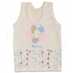 خريد اينترنتي سيسموني نوزاد به آوران مدل گل زیرپوش رکابی دخترانه Behavaran نوزادی، نی نی لازم فروشگاه اینترنتی سیسمونی