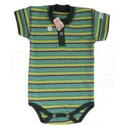خريد اينترنتي سيسموني نوزاد به آوران مدل تن تن زیردکمه آستین کوتاه پسرانه Behavaran نوزادی، نی نی لازم فروشگاه اینترنتی سیسمونی