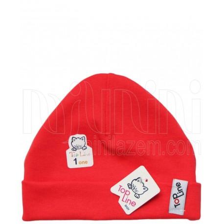 کلاه استرچ دخترانه طرح جوجه ماتیکی تاپ لاین Topline
