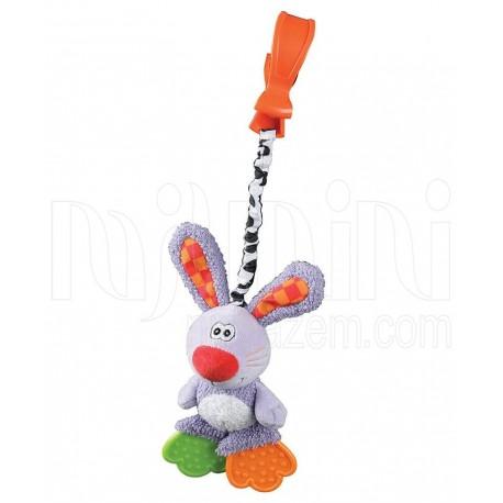 پلی گرو - آویز کریر ویبره خرگوش Playgro - 1