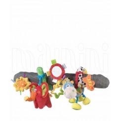 پلی گرو - عروسک آویز کالسکه و تخت مارپیچ اسب و فیل Playgro