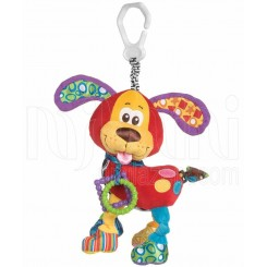 پلی گرو - عروسک گیره دار سگ قرمز Playgro