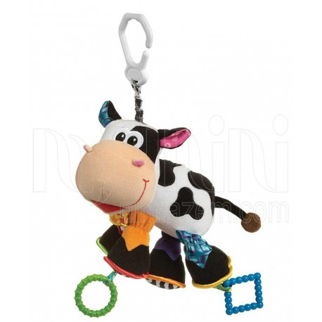 پلی گرو - عروسک گیره دار گاو Playgro - 1