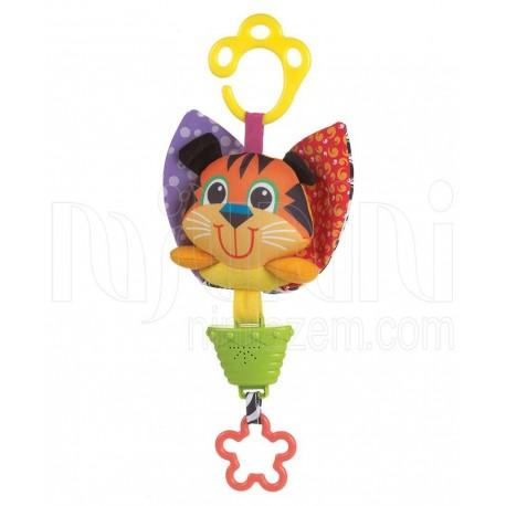 پلی گرو - عروسک گیره دار موزیکال گربه Playgro - 1