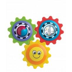 خريد اينترنتي سيسموني نوزاد پلی گرو - جغجغه خورشیدی سه مدلی Playgro نوزادی، نی نی لازم فروشگاه اینترنتی سیسمونی