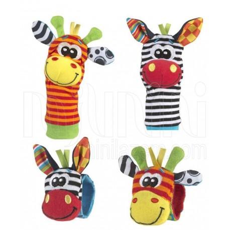 پلی گرو - پاپوش و مچبند جغجغه ای کودک Playgro