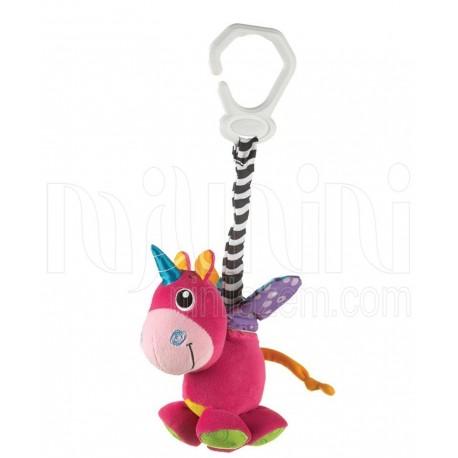 پلی گرو - عروسک گیره دار ویبره اسب شاخ دار Playgro