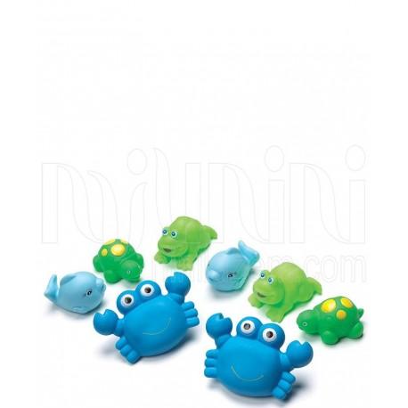 پلی گرو - پوپت آب پران حمام کودک طرح حیوانات آبی Playgro