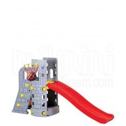خريد اينترنتي سيسموني نوزاد  سرسره برج طوسی قرمز ادو پلی Edu Play نوزادی، نی نی لازم فروشگاه اینترنتی سیسمونی