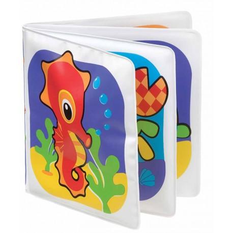 پلی گرو - کتابچه حمام اسب آبی Playgro - 1