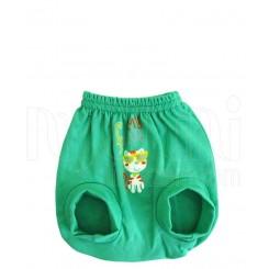 شورت پوشکی دخترانه و پسرانه گربه سبز دولو Davalloo