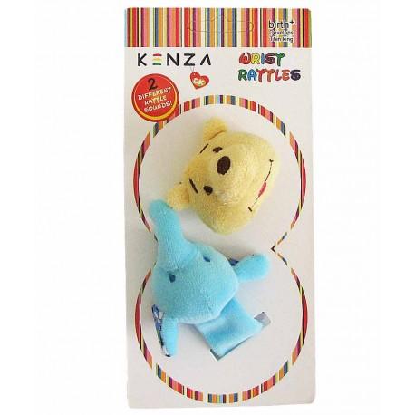 مچبند جغجغه ای دو عددی نوزادی کنزا Kenza