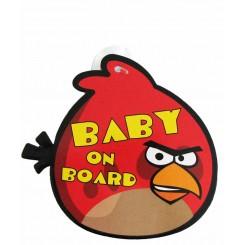 آویز هشدار کودک در ماشین Baby on board