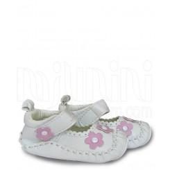 خريد اينترنتي سيسموني نوزاد کفش دخترانه 3 شکوفه صورتی مکس Mexx نوزادی، نی نی لازم فروشگاه اینترنتی سیسمونی