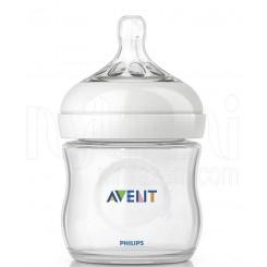 خريد اينترنتي سيسموني نوزاد شیشه شیر طلقی نچرال 125 میل فیلیپس اونت Philips Avent - 1 نوزادی، نی نی لازم فروشگاه اینترنتی سیسمونی