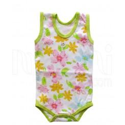 خريد اينترنتي سيسموني نوزاد لباس دخترانه مدل رنگارنگ بادی آستین رکابی Behavaran نوزادی، نی نی لازم فروشگاه اینترنتی سیسمونی