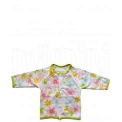 خريد اينترنتي سيسموني نوزاد لباس دخترانه مدل رنگارنگ مانتو  Behavaran نوزادی، نی نی لازم فروشگاه اینترنتی سیسمونی