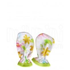 خريد اينترنتي سيسموني نوزاد لباس دخترانه مدل رنگارنگ دستکش Behavaran نوزادی، نی نی لازم فروشگاه اینترنتی سیسمونی