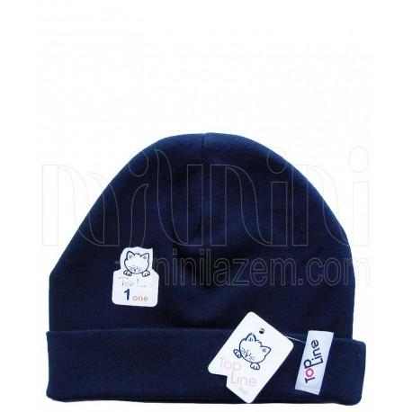 کلاه استرچ (سرمه ای) تاپ لاین Top Line