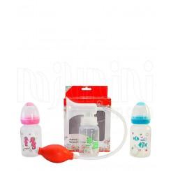 خريد اينترنتي سيسموني نوزاد شیردوش پمپی با شیرخوری اپل Apple baby - 1 نوزادی، نی نی لازم فروشگاه اینترنتی سیسمونی