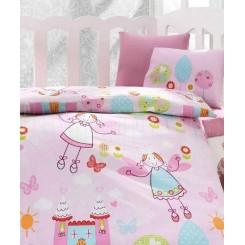 خريد اينترنتي سيسموني نوزاد ست ملحفه نوزادی فرشته کوچولو کاتن باکس Cotton box Masal - 1 نوزادی، نی نی لازم فروشگاه اینترنتی سیسمونی