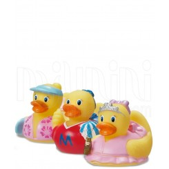اسبای بازی حمام پوپت آب پران طرح اردک کوچولوهای دخترانه مانچکین Munchkin