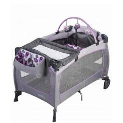 خريد اينترنتي سيسموني نوزاد تخت و پارک نوزاد ایون فلو مدل Evenflo Deluxe lizette - 1 نوزادی، نی نی لازم فروشگاه اینترنتی سیسمونی