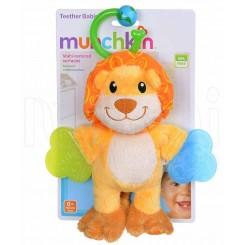 خريد اينترنتي سيسموني نوزاد دندانگیر پولیشی طرح شیر مانچکین Munchkin - 1 نوزادی، نی نی لازم فروشگاه اینترنتی سیسمونی