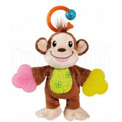 خريد اينترنتي سيسموني نوزاد دندانگیر پولیشی طرح میمون مانچکین Munchkin نوزادی، نی نی لازم فروشگاه اینترنتی سیسمونی