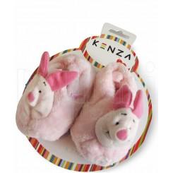 پاپوش کودک خرگوش صورتی کنزا Kenza