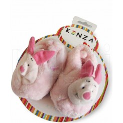 خريد اينترنتي سيسموني نوزاد پاپوش کودک خرگوش صورتی کنزا Kenza نوزادی، نی نی لازم فروشگاه اینترنتی سیسمونی