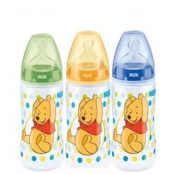 خريد اينترنتي سيسموني نوزاد شیشه شیرطلقی Disney پو خال خالی ناک Nuk - 1 نوزادی، نی نی لازم فروشگاه اینترنتی سیسمونی