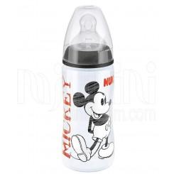 خريد اينترنتي سيسموني نوزاد شیشه شیرطلقی 300میل  Disney میکی موس ناک Nuk - 1 نوزادی، نی نی لازم فروشگاه اینترنتی سیسمونی