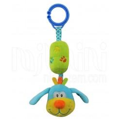 خريد اينترنتي سيسموني نوزاد آویز کریر و کالسکه عروسکی  طرح سگ بیبی میکس Baby Mix نوزادی، نی نی لازم فروشگاه اینترنتی سیسمونی