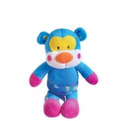 خريد اينترنتي سيسموني نوزاد عروسک کشی موزیکال میمون آبی بی بی میکس Baby Mix نوزادی، نی نی لازم فروشگاه اینترنتی سیسمونی