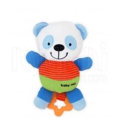 خريد اينترنتي سيسموني نوزاد عروسک پولیشی خرس پاندا کودک ملودی دار بیبی میکس Baby Mix نوزادی، نی نی لازم فروشگاه اینترنتی سیسمونی