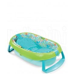 وان حمام پایه دار تاشو سامر رنگ سبز Summer
