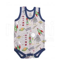 لباس نوزادی زیردکمه دار رکابی سفینه لیدولند Lido Land