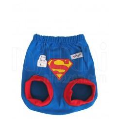 شورت عینکی نوزادی پسرانه طرح سوپرمن تاپ لاین Topline